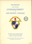 1959 Commencement Program