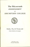 1974 Commencement Program