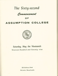 1979 Commencement Program