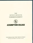 1994 Commencement Program