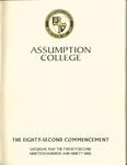 1999 Commencement Program