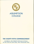 2002 Commencement Program