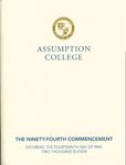 2011 Commencement Program