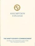 2014 Commencement Program