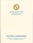 2017 Commencement Program