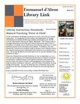 Spring 2015 Library Newsletter by Assumption College