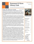 Winter 2015 Library Newsletter by Assumption College