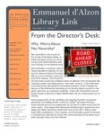 Spring 2014 Library Newsletter by Assumption College