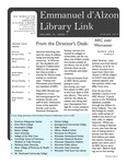 Spring 2013 Library Newsletter by Assumption College