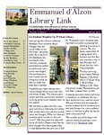 Winter 2012 Library Newsletter by Assumption College