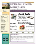 Fall 2011 Library Newsletter (Special Issue) by Assumption College