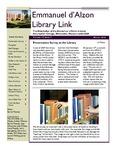 Winter 2010 Library Newsletter