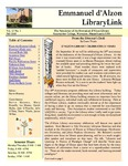 Fall 2008 Library Newsletter
