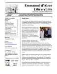 Fall 2002 Library Newsletter