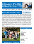 Spring 2019 Library Newsletter