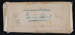 Envelope for Major Mallet's Genoa School Documents