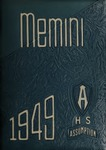 1949 Memini Yearbook by Assumption College High School