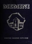 1954 Memini Yearbook