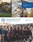 2016-2017 Undergraduate Catalog by Assumption College