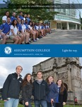 2015-2016 Undergraduate Catalog by Assumption College