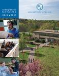 2012-2013 Undergraduate Catalog