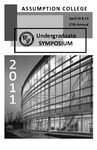 2011 Undergraduate Symposium Brochure by Assumption College