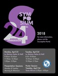 2018 Undergraduate Symposium Brochure by Assumption College