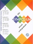 2019 Undergraduate Symposium Brochure by Assumption College