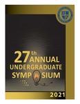 2021 Undergraduate Symposium Brochure