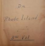 La Controverse du Rhode Island Volume 3